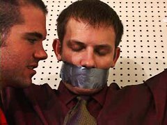Spy corded and gagged