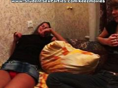 college, orgy, russian, girls, bedroom, blowjob, pov, students, studentsexparties.com, group