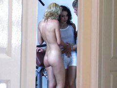 in grup, blonde, maghieroaice, analsex,