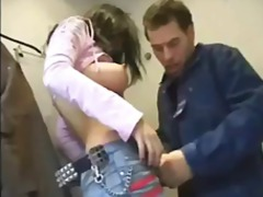 Czech hoe banged in dressing room