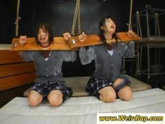 bondage, group, cum, torture, asian, fetish, bound, schoolgirls, humiliation, their, japanese