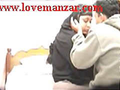 Indian aunty seduced and ravaging man desi