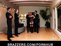 Massive-breast pornstar tory lane is double-pulverized in ass fucking gang-nail