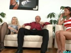 Mom & dad are penetrating my buddies five sandra de marco and cindy gold