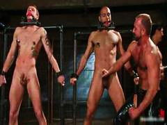 extreme, gay, porn, part5, bondage, hardcore, very, fetish, bound, gangbang, bdsm, gagging, hogtied