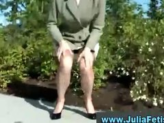 Golden shower mature tramp pisses