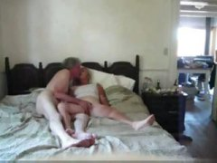 Giving my 53 years blonde wifey an climax
