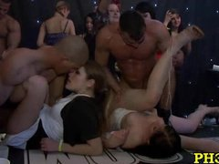 Firm core group hookup in ht club
