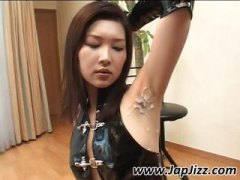 cumshot, latex, gets, jizzed, asian, japanese, shows, armpit, naked, on, petite, girl, got, brunette