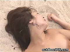 blowjob, public, sucking, lovely, japanese, fucking, asian, threesome, babe, part3, outdoor