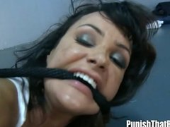 Ass-fuck interrogation and deep mouth for lisa ann