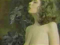 Classic porn with christy canyon sharing a stiff manstick in three way