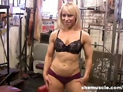 gym, kink, legs, shemuscle.com, kinky, blondes, blonde, blond, fetish, fitness, mature, muscle