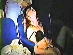 Hidden cam takes hold of insatiable couples at the porn theater having scorching hookup