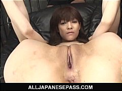 pussy, vibrator, cock, fake, small tits, asian, shaved