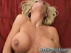 Bigtits mom fingers plows her labia