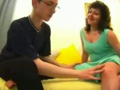 Mature mom son's mate hookup movie