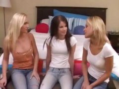 threesome, fun, together, teen, some, lesbian, friends, hot, cameron, tits