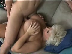 Molten mature huge-boobed mates mom