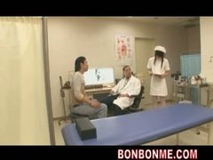 Nurse seduced and penetrated by patient