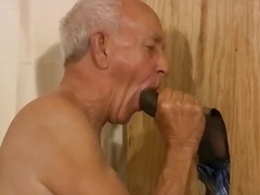 Daddy throating ebony dick
