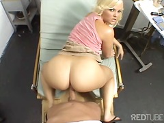 Alexis texas got drilled by the doctor