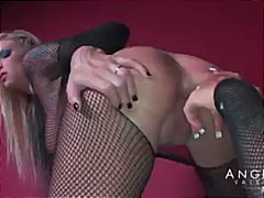 Angelina valentine in a molten nailing session with brooke