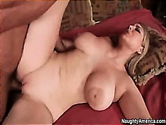 tits, big, gunn, bed, boobs, on, wife, tommy, 1on1, blonde, cum