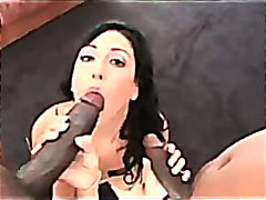 Ricki white likes ebony dick