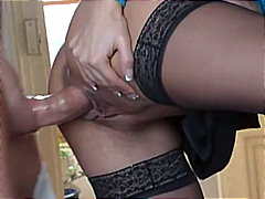 couple, rasées, blondes, russes, pipes, anulingus, masturbation, bas