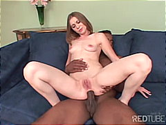Cindy Sterling, sesso orale, interrazziale, coppie, anale, inghiottire, brunette