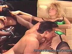 cumshot, group, pornstarclassics.com, deepthroat, vintage, facial, classic, threesome, blowjob