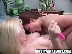 Lacie and kat on molten toying act