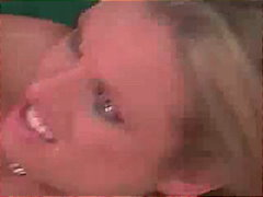 Briana Banks, deepthroat, oraal, bj, blond, vinger, hard
