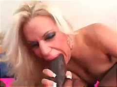 blowjob, facial, gagging, huge-cock, close-up, pornstar, bikini, interracial, blonde