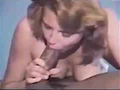 creampie, vintage, cumshot, close-up, interracial, blowjob