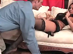 Audrey bitoni gives a sole-job