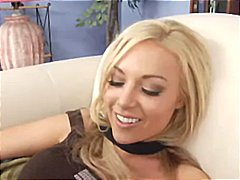 Blonde honey kayden kross trades oral hook-up and then gets poked