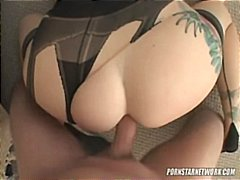 Adrianna nicole wears killer knickers while she gets pulverized in her donk pov style