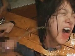 corded asian schoolgirls coerced to deepthroat chisels and get sloppy facials