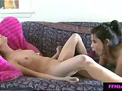 Teenagers nicole ray and tanner mayes share a long fucktoy