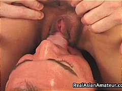 Asian tart ass-fuck pumelled while railing her part4