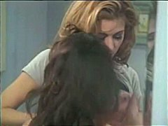 Classic porn starlet christy canyon lets her girlfriends spread her pooper