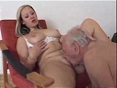 Crazy nurse pounds old stud