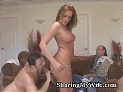 Pathetic spouse shares steaming wifey