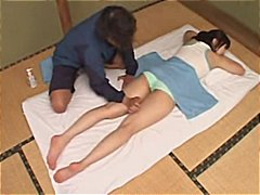 massering, amateur, japanees