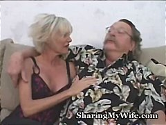 Mature hotty suggested by openminded spouse