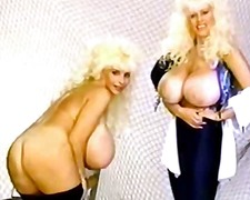 blondes, vintage, sarah jane hamilton, big boobs