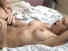Mature wife pummeling spouse