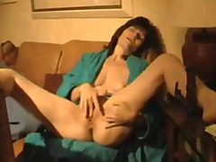 Mature wifey jerks two